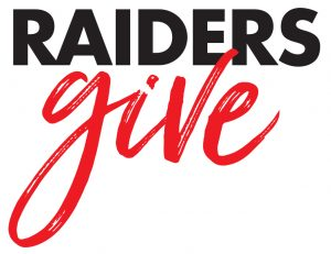 Raiders Give logo